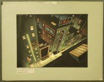 Image of [City skyline at night] - Little, Robert, 1902-1994