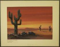 Image of [Desert sunset] - Connavale, Robert