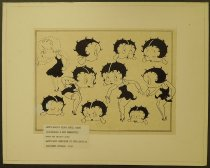 Image of [Betty Boop's first model chart] - Natwick, Grim