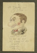 Image of [Abie the Agent drawing] - Hershfield, Harry, 1885-1974