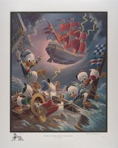 Image of Afoul of the Flying Dutchman - Barks, Carl, 1901-2000
