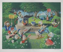 Image of Surprise Party at Memory Pond - Barks, Carl, 1901-2000