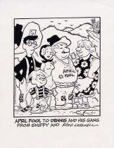 Image of April Fool's Dennis the Menace - Lasswell, Fred, 1916-2001