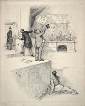 Image of Does this mean the indorsement of the President? - Nast, Thomas, 1840-1902