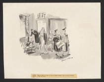 Image of When you said you wanted to come to Bergdorf Goodman, I had no idea you intended to buy something. - Hokinson, Helen Elna, 1893?-1949