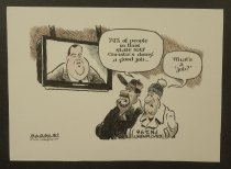 Image of 74% of people in this state say Christie's doing a good job... - Margulies, Jimmy, 1951-
