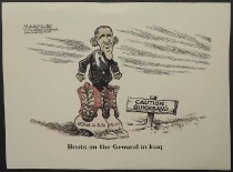 Image of Boots on the ground in Iraq - Margulies, Jimmy, 1951-