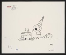 Image of [Promotional drawing for Pigeon's 10th birthday] - Willems, Mo, 1968-