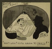 Image of Don't look! You'll laugh to death! - McMuro, Art