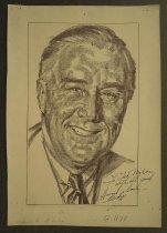 Image of [Portrait] - Brodie, Howard, 1915-2010