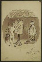 Image of [Model painting artist] - Berholtz, Harold