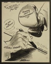 Image of Draw the line! - Costello, Jerry, 1897-1971