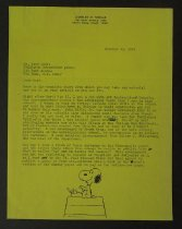 Image of [Letter from Schulz to Boyd Lewis] - Schulz, Charles M., 1922-2000