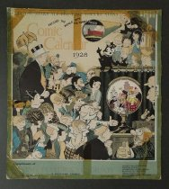 Image of Around the world with the funny folks Comic Calendar - Biedermann, Louis, 1874-1957