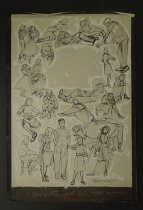 Image of [Character sketches] - Terry, Hilda, 1914-2006