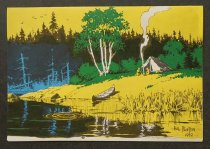 Image of [Lake side camping scene] - Foster, Hal, 1892-1982