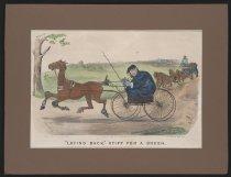 "Image of ""Laying Back,""- Stiff for a Brush - Worth, Thomas, 1834-1917"