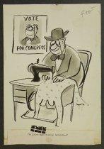 Image of Politics make strange bedclothes - Modell, Frank B., 1917-2016