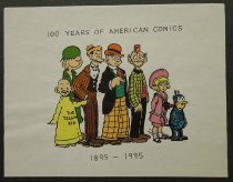 Image of 100 Years of American Comics 1895-1995 - Janocha, Bill, 1959-