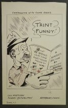 Image of Canpaigning with comic books - Mortison, Carl L., 1889?-1963