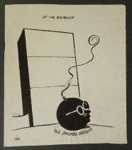 Image of At the doorstep - Yoes, Ralph, fl. 1981