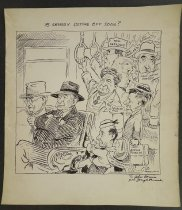Image of Is anybody getting off soon? - Parrish, Joseph, 1905-1989
