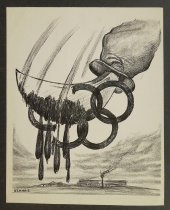 Image of [Cutting the Olympics] - Uzanas, Philip, fl. 1950