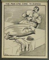 Image of The man who came to dinner - Uzanas, Philip, fl. 1950