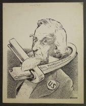 Image of Necktied - Uzanas, Philip, fl. 1950