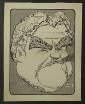 Image of [Industrial outline of a man's face]  - Edwards, LaRue G.
