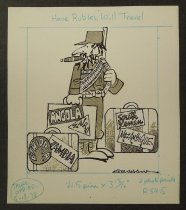 Image of Have Rubles, will travel  - Graham, Bill (William Karr), 1920-