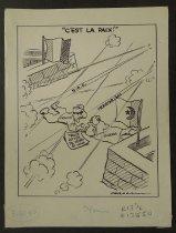 Image of C'est la paix!  - Graham, Bill (William Karr), 1920-