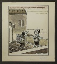 Image of Guess what? They want you back in Washington!  - Graham, Bill (William Karr), 1920-