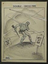 Image of Double - Cross Fire  - Hodgins, Dick, Jr., 1931-