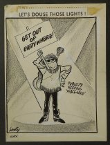 Image of Let's douse those lights!  - Hodgins, Dick, Jr., 1931-