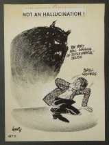Image of Not an hallucination !  - Hodgins, Dick, Jr., 1931-