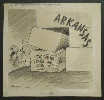 Image of A poor cornerstone for a great state  - Graham, Bill (William Karr), 1920-