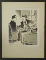 Image of Oh, pretty hectic..  How've things been with you?  - Graham, Bill (William Karr), 1920-
