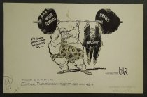 Image of I'll lower mine when he lowers his....  - Locher, Dick, 1929-
