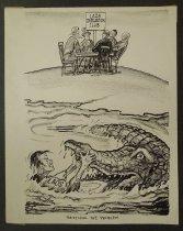 Image of Settling the problem  - Knudsen, James, 1922-2008