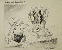 Image of Shed the sacks, Sam! - McClanahan, Bill, 1907-1981