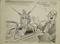 Image of A most important automotive safety device - McClanahan, Bill, 1907-1981