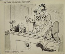 Image of Another pollution problem. - McClanahan, Bill, 1907-1981