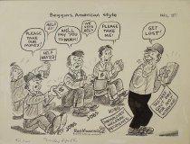 Image of Beggars, American style - Manning, Reginald, 1905-1986
