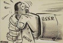 Image of [U.S.S.R. gripping Nasser] - Seaman, Bernard
