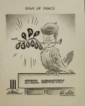Image of Dove of Peace - Wood, Art, 1927-