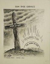 Image of Sun Rise Service - Wood, Art, 1927-