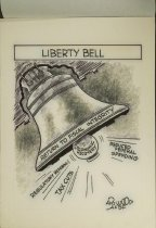 Image of Liberty Bell - Wood, Art, 1927-