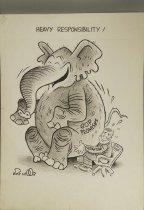Image of Heavy Responsibility! - Wood, Art, 1927-