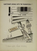 Image of Something's wrong with the foundation! - Wood, Art, 1927-